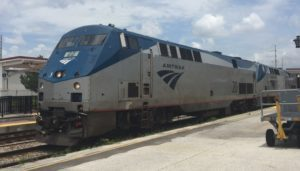 Amtrak GE Locomotive