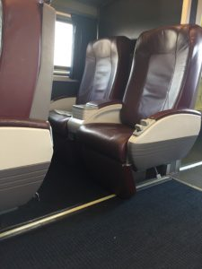 Amtrak Business Class on Midwest Regional Trains