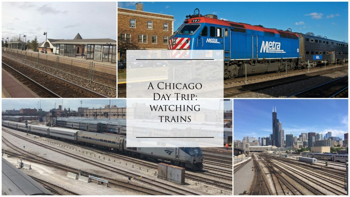 Read more about the article Watching Passenger Trains in Chicago