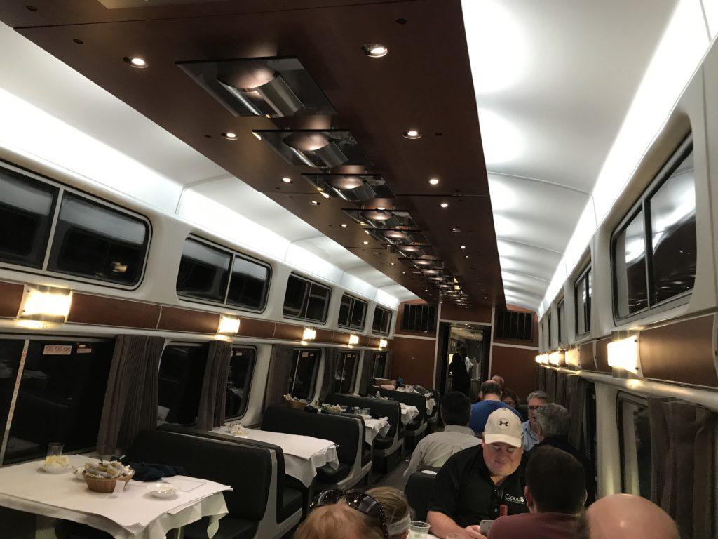 Viewliner Dining Car