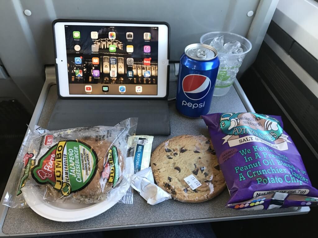 Amtrak Food