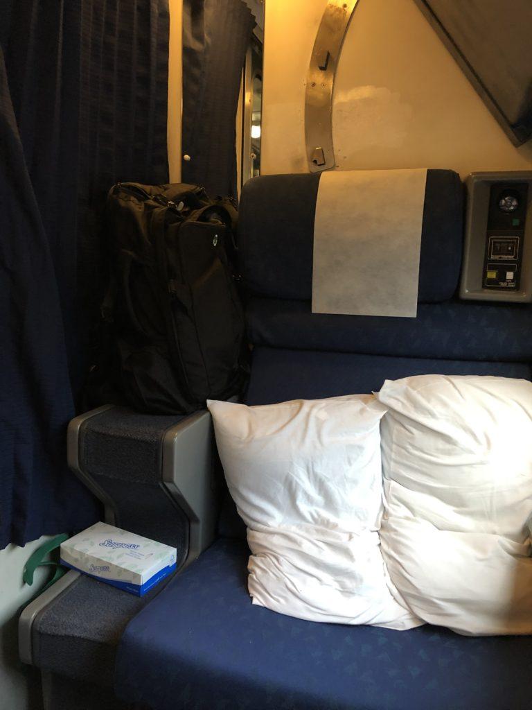 Amtrak Roomette