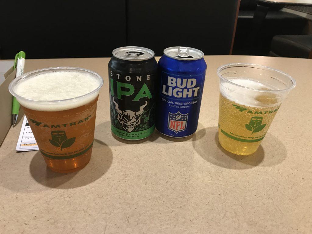Amtrak Beer