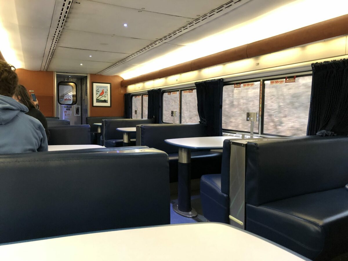 Changes Coming To Eastern Amtrak Dining Cars