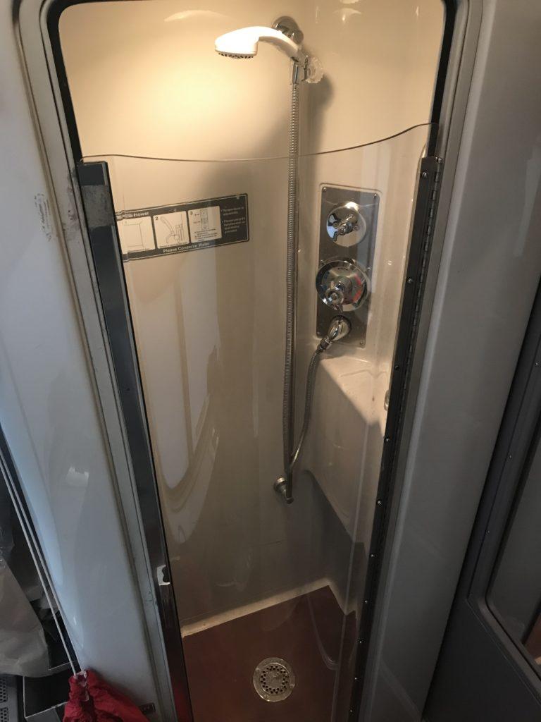Amtrak Shower