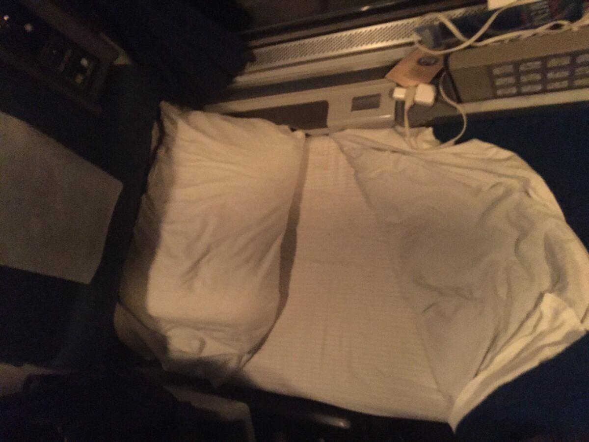 Superliner Bed