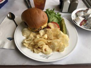 Amtrak Veggie Burger