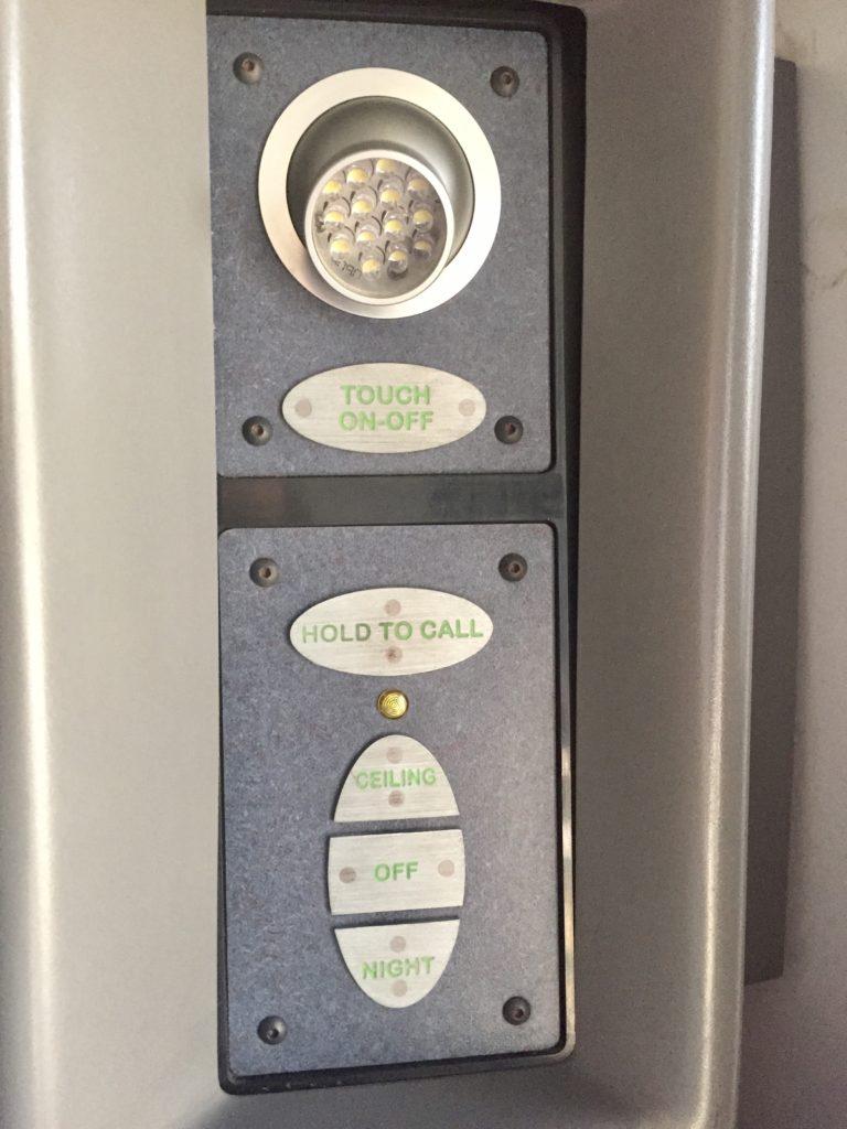 Suoerliner Roomette switch