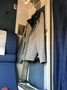 Superliner roomette hook