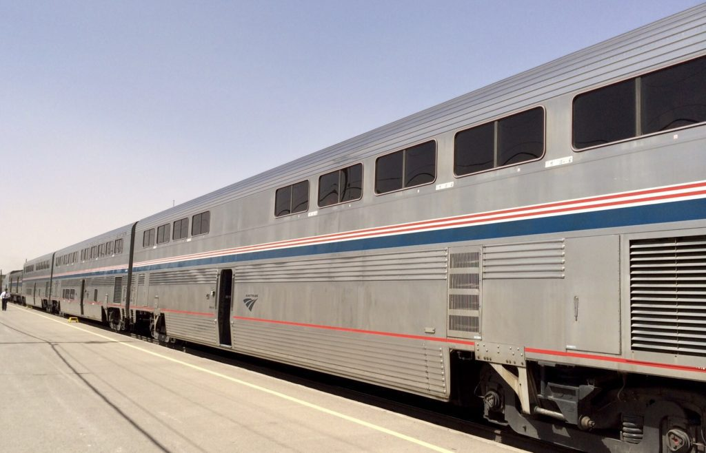 Amtrak Superliner Train