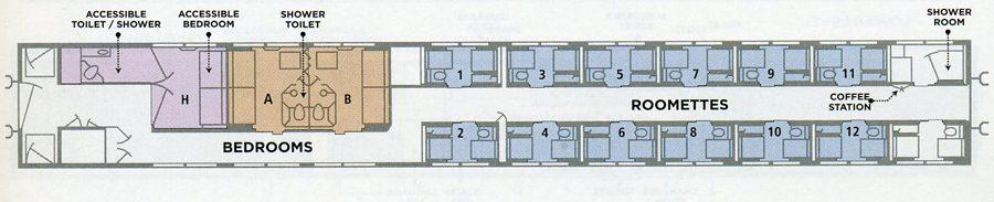Amtrak Viewliner Sleeper