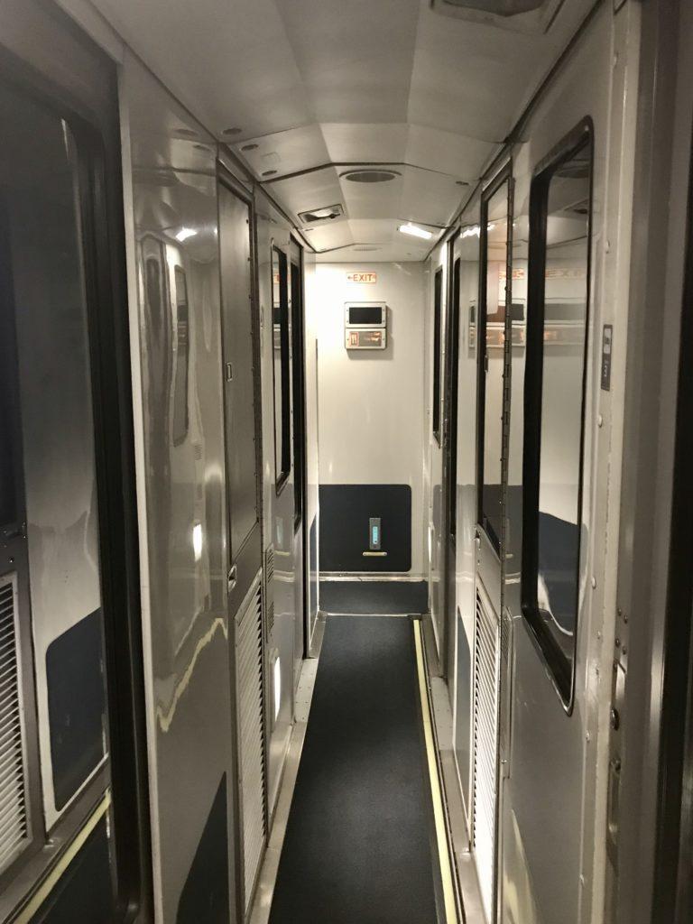 Viewliner Sleepers Car Hallway
