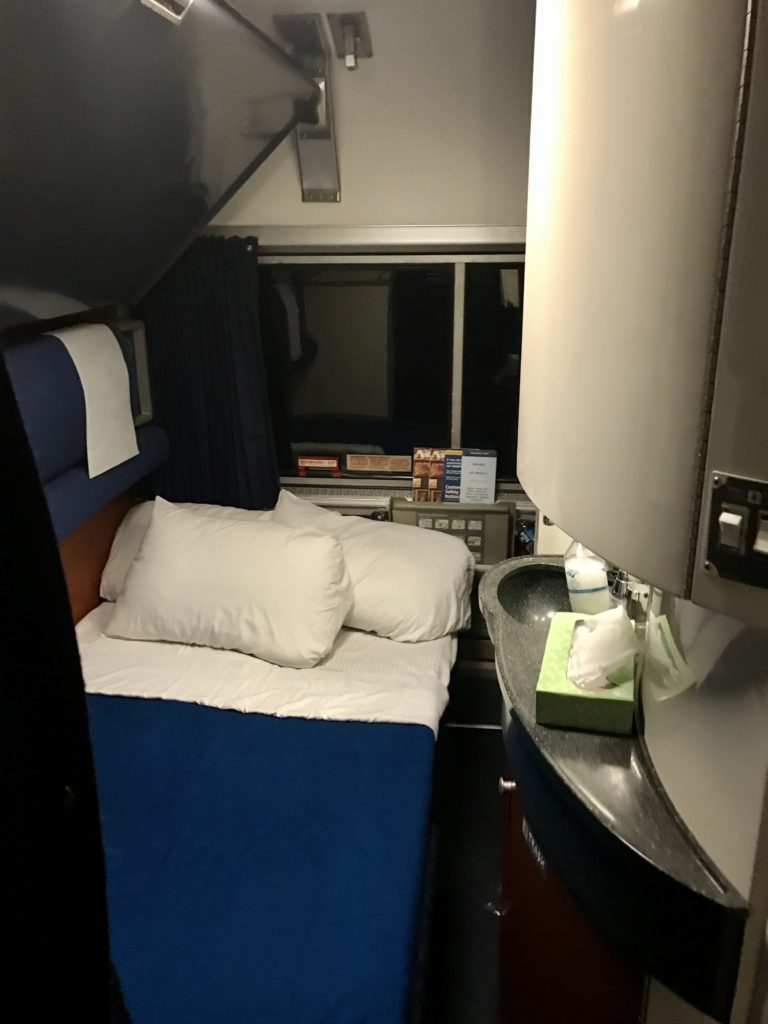Amtrak Bedroom