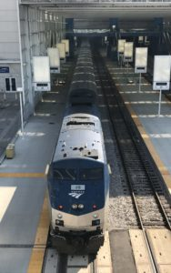 Amtrak's Hiawatha in Milwaukee, WI