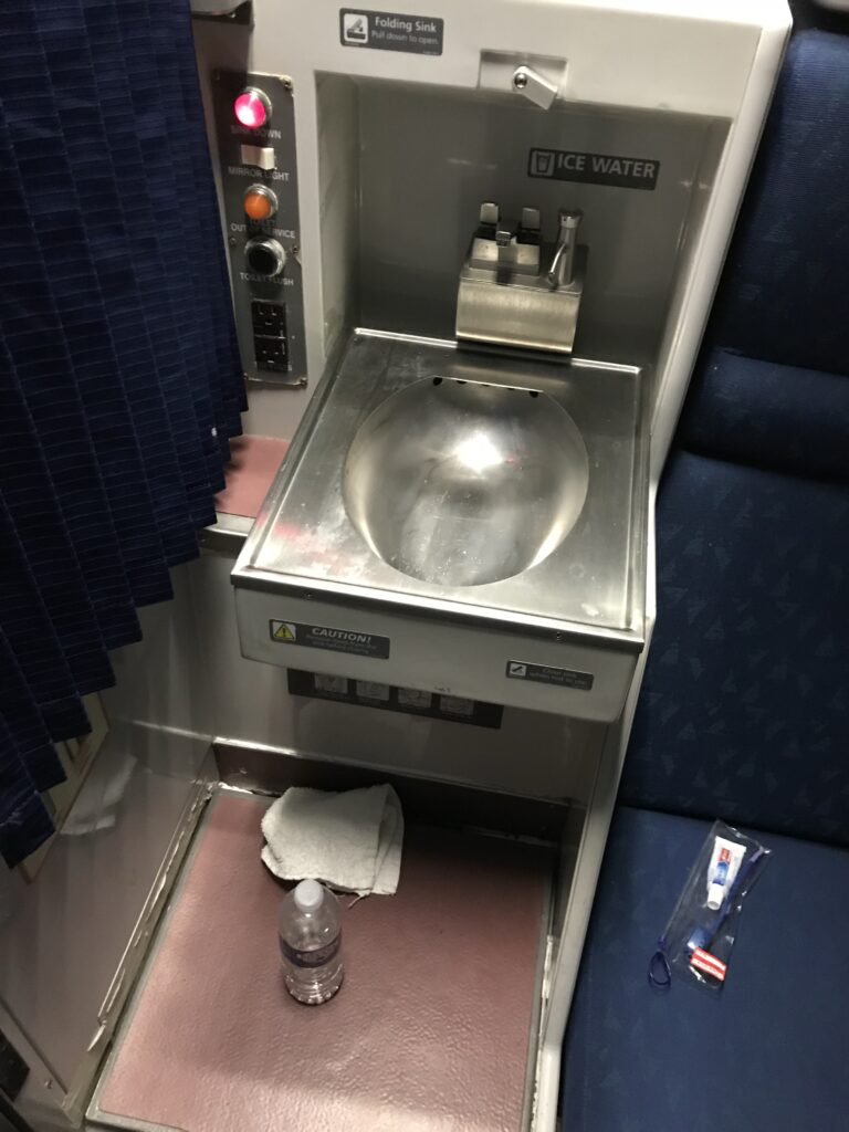 Viewliner Roomette Sink