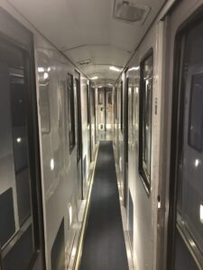 Amtrak Viewliner Roomette Hallway