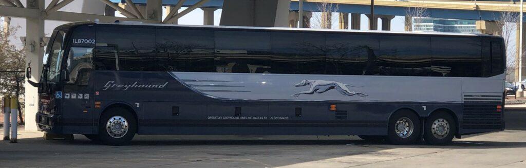 My first Greyhound Bus Trip