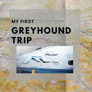 My first Greyhound trip (Milwaukee to Chicago)