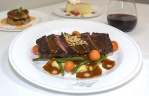 Amtrak steak