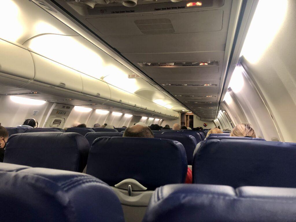Boarding Southwest