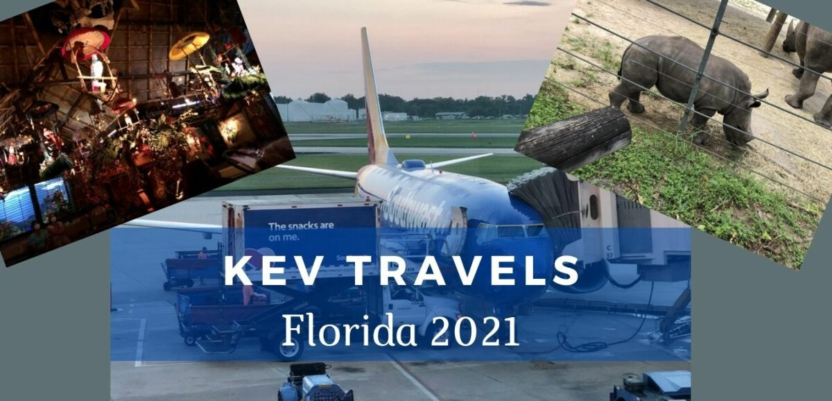 You are currently viewing Kev Travels: Florida 2021